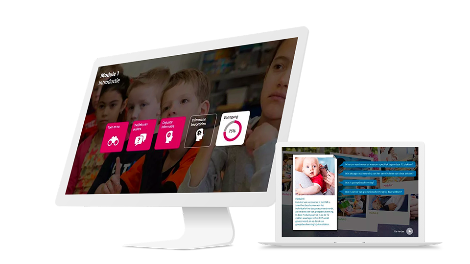 RIVM | e-Learning Vaccinaties | UP learning