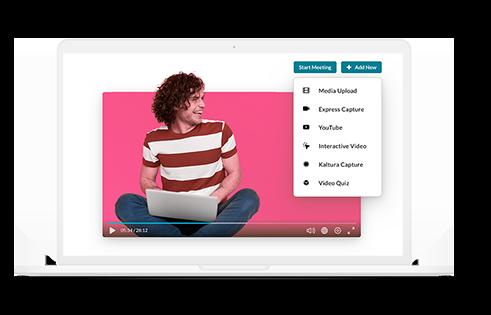 Kaltura   Video platform   UP learning