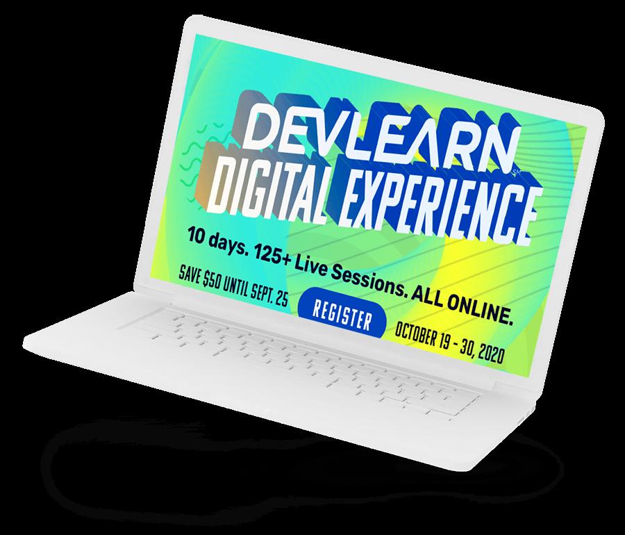 DevLearn 2020 | Mandy van der Linden | UP learning