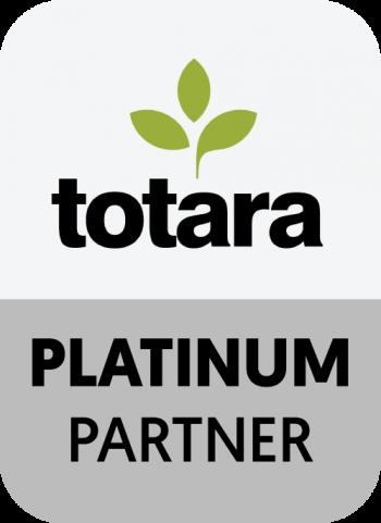 Totara Platinum Partner   UP learning